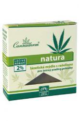 Zobrazit detail - Cannaderm natura ─ lázeňské mýdlo s rašelinou 80 g