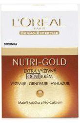Zobrazit detail - L'Oréal Paris Nutri─Gold Extra výživný oční krém 15 ml