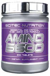 Výhodný balíček pro nabírání čisté svalové hmoty 2 - Scitec 100% Whey protein 2350 g + Scitec Amino 5600 500 tbs.