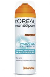 LOREAL PARIS Gel na holení Hydra Sensitive (Men Expert) 200 ml