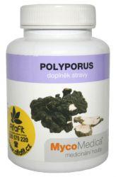 Zobrazit detail - MycoMedica Polyporus umbellatus ─ Choroš oříš 90 tablet
