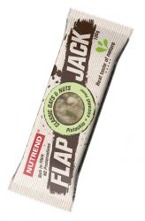 Nutrend FLAPJACK 100 g příchuť pistácie + kokos