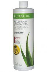 Zobrazit detail - Herbalife Bylinný koncentrát z Aloe 473 ml ─ příchuť brusinka