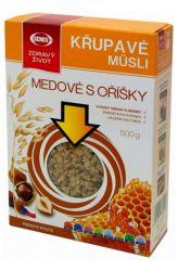 Zobrazit detail - Semix Křupavé müsli medové s oříšky 500 g