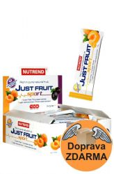 Zobrazit detail - Nutrend Just Fruit Sport 18 x 70 g + doprava ZDARMA