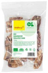 Wolfberry BIO Banány krájené 150 g