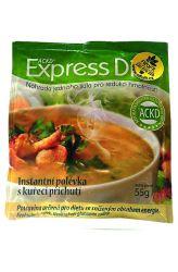 Good Nature Express Diet Instantní polévka s kuřecí příchutí 55 g