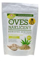 Iswari Bio snídaňová směs naklíčený oves konopné semínko a skořice 360 g