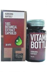 Zobrazit detail - Good Nature Vitamin bottle – Kurkuma 30 kapslí