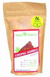 Zelená Země Konopná semínka neloupaná 150 g