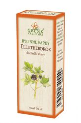 Grešík Eleutherokok bylinné kapky 50 ml