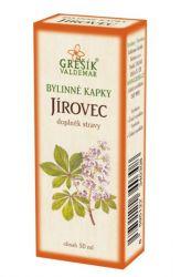Grešík Jírovcové bylinné kapky 50 ml
