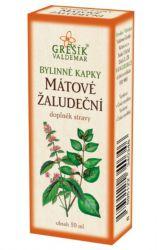 Zobrazit detail - Grešík Mátové žaludeční bylinné kapky 50 ml
