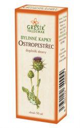 Zobrazit detail - Grešík Ostropestřec bylinné kapky 50 ml