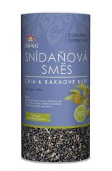 Iswari BIO Snídaňová směs 800 g – chia & kakaové boby