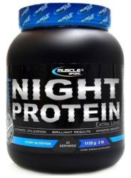 Zobrazit detail - Muscle Sport Night Extralong Protein 1135 g