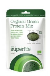 Zobrazit detail - Superlife Organic Green Protein Mix 200 g