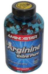 Zobrazit detail - Aminostar L─Arginine Extra Pure 360 kapslí