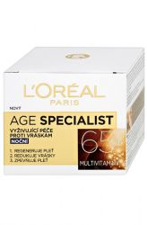 L'Oréal Paris Age Specialist 65+ Night Anti-Wrinkle Cream 50 ml