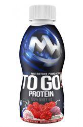 MAXXWIN Protein TO GO! - 25 g - příchuť jahoda