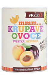 Mixit Švestka Meruňka – křupavé ovoce 65 g