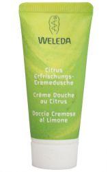 Weleda citrusový osvěžující sprchový krém 20 ml