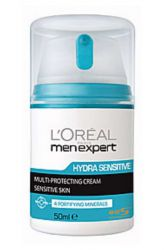 Zobrazit detail - L'Oréal Hydratační ochranný krém pro citlivou pleť 50 ml