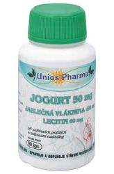 Zobrazit detail - Unios Pharma JOGURT + jablečná vláknina 90 kapslí