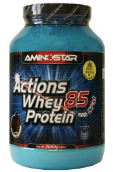 Zobrazit detail - Aminostar Actions Whey Protein 85 ─ 2000 g