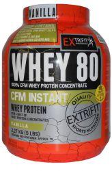 EXTRIFIT CFM Instant Whey 80 2270 g příchuť bílý jogurt