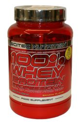 Scitec Nutrition 100% Whey Protein Professional 920 g příchuť banán