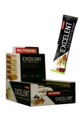 Zobrazit detail - Nutrend Excelent Protein bar Double 18 x 85 g  + doprava ZDARMA