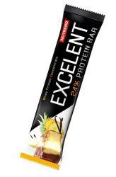 Nutrend Excelent Protein bar 85 g - vanilková s ananasem