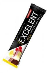 Nutrend Excelent Protein bar - citron & tvaroh & malina s brusinkami