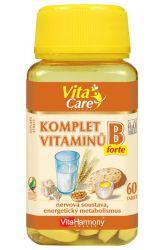 Komplet vitaminů B - 60 tbl. - vitamíny