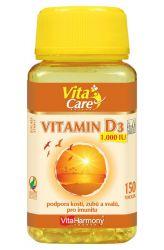 VitaHarmony Vitamin D3 ─ 1000 m.j. ─ 150 tobolek