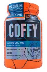 Zobrazit detail - Extrifit Coffy Stimulant 200 mg ─ 100 tablet