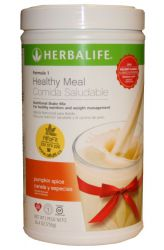 Detail zu zeigen - Herbalife Formula 1─ Gesunde Mahlzeit Cocktail ─ Geschmack Kürbis & Zimt