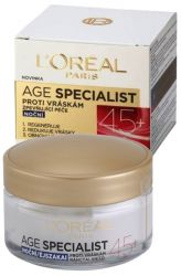 L'Oréal Paris Age Specialist 45+ Night Anti-Wrinkle Cream 50 ml