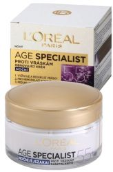!_zobrazit detail_! - L'Oréal Paris Age Specialist 55+ Night Anti-Wrinkle Cream 50 ml