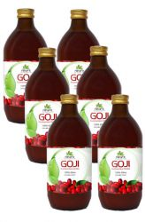 SET 6x AlfaFit Goji 100% Bio juice 500 ml