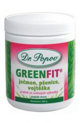 Zobrazit detail - Dr. Popov GreenFit prášek ze zelených výhonků 200 g