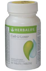 Zobrazit detail - Herbalife Cell─U─Loss 90 tablet ─ dovoz USA originální receptura