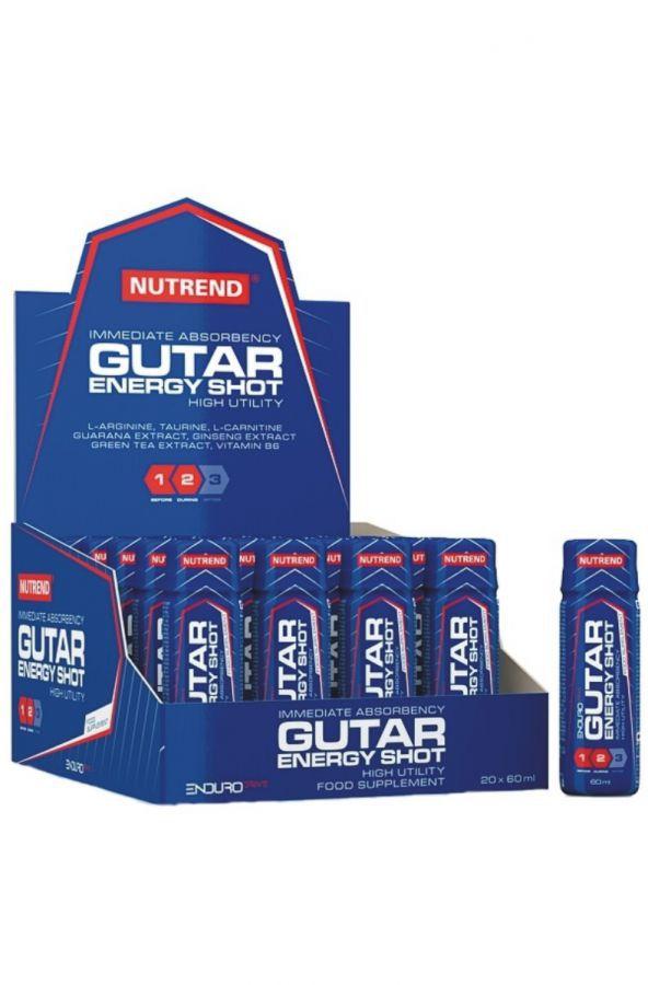 Nutrend GUTAR ENERGY SHOT 20 x 60 ml