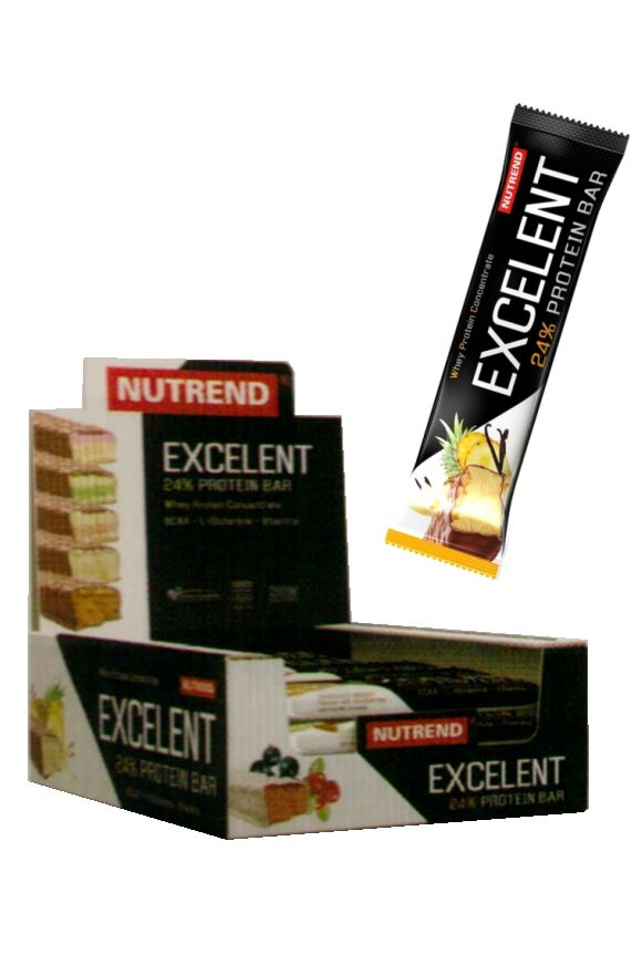 Nutrend Excelent Protein bar 30 x 40 g
