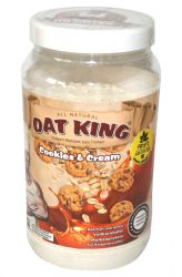 Oat King Drink 600 g - příchuť Cookies & Cream