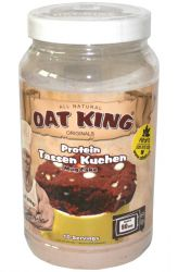Oat King Protein muffin 500 g příchuť double chocolate black & white