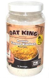 Oat King Protein muffin 500 g příchuť lemon poppy seed