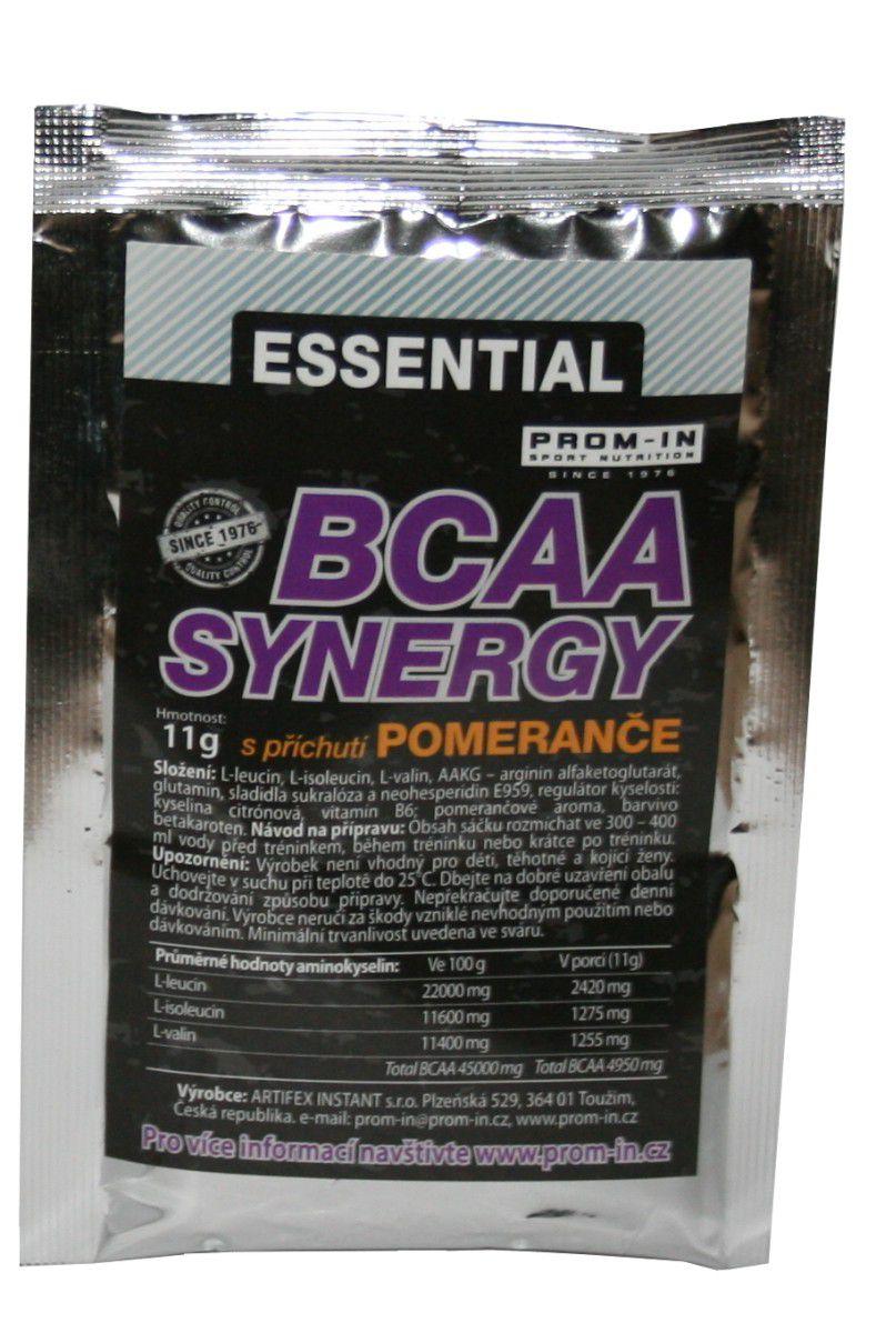 PROM-IN Essential BCAA Synergy sáček 11 g příchuť pomeranč