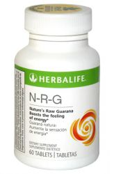 Herbalife Guarana Tabletten NRG 60 Tabletten ─ import USA